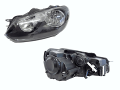 VOLKSWAGEN GOLF MK6 HEADLIGHT LEFT HAND SIDE