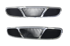 DAEWOO LEGANZA GRILLE FRONT