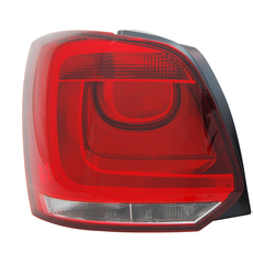 VOLKSWAGEN POLO 6R TAIL LIGHT LEFT HAND SIDE