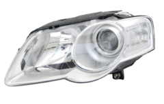 VOLKSWAGEN PASSAT B6 3C HEAD LIGHT LEFT HAND SIDE