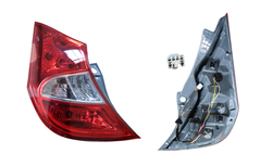 HYUNDAI ACCENT HATCHBACK RB TAIL LIGHT LEFT HAND SIDE