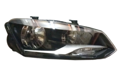 VOLKSWAGEN POLO 6R HEADLIGHT RIGHT HAND SIDE