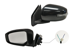 MITSUBISHI LANCER CF DOOR MIRROR LEFT HAND SIDE