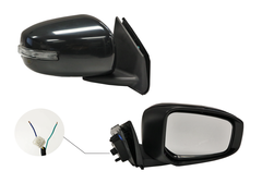 MITSUBISHI LANCER CF DOOR MIRROR RIGHT HAND SIDE
