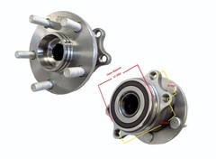 SUBARU FORESTER SH WHEEL HUB REAR