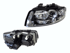 AUDI A4 B6 HEADLIGHT LEFT HAND SIDE
