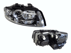 AUDI A4 B6 HEADLIGHT RIGHT HAND SIDE
