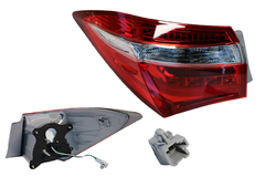 TOYOTA COROLLA ZRE172 TAIL LIGHT LEFT HAND SIDE OUTER