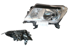 NISSAN NAVARA D23 NP300 HEADLIGHT LEFT HAND SIDE
