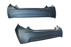 TOYOTA PRIUS C NHP10 BAR COVER REAR