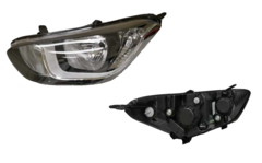HYUNDAI I20 PB HEADLIGHT LEFT HAND SIDE