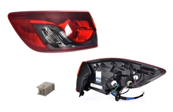 MAZDA CX-9 TB TAIL LIGHT LEFT HAND SIDE OUTER