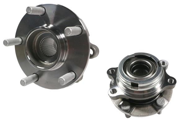 NISSAN ELGRAND E52 WHEEL HUB FRONT LEFT HAND SIDE