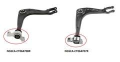 CITREON C5 SERIES 3 CONTROL ARM RIGHT HAND SIDE FRONT LOWER