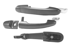 HYUNDAI TUCSON JM DOOR HANDLE LEFT HAND SIDE REAR