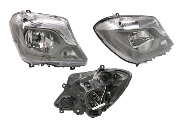 MERCEDES SPRINTER W906 HEADLIGHT RIGHT HAND SIDE