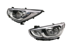 HYUNDAI ACCENT RB SERIES 2 HEADLIGHT LEFT HAND SIDE