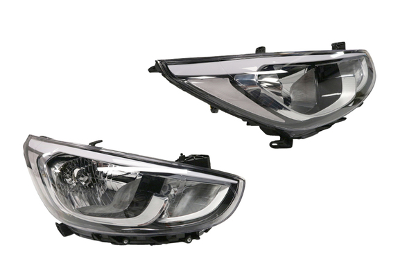HYUNDAI ACCENT RB SERIES 2 HEADLIGHT RIGHT HAND SIDE