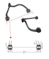 KIA SORENTO BL CONTROL ARM RIGHT HAND SIDE FRONT UPPER