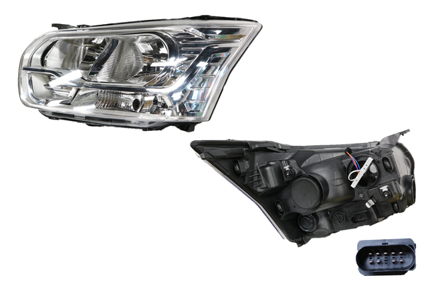 FORD TRANSIT VO HEADLIGHT LEFT HAND SIDE