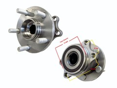 SUBARU XV G4-X WHEEL HUB REAR