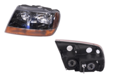 JEEP GRAND CHEROKEE WJ/WG HEADLIGHT LEFT HAND SIDE