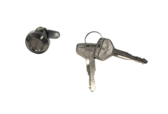 UNIVERSAL DOOR LOCK BARREL & KEYS TOYOTA/DAIHATSU LEFT HAND SIDE