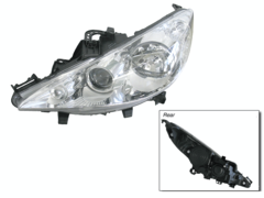 PEUGOET 207 HEADLIGHT LEFT HAND SIDE