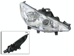 PEUGEOT 207 A7 HEADLIGHT RIGHT HAND SIDE