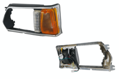 SUBARU LEONE HEADLIGHT CASE LEFT HAND SIDE