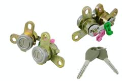 NISSAN PULSAR N16 DOOR LOCK BARREL & KEYS SET