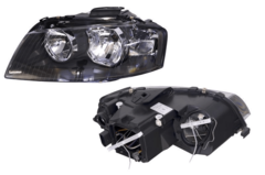 AUDI A3 8P HEADLIGHT LEFT HAND SIDE