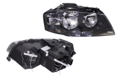 AUDI A3 8P HEADLIGHT RIGHT HAND SIDE