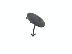 TOYOTA PRIUS HW20 TOW BAR COVER FRONT